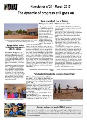thumbnail of Bulletin n°24 En