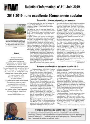 thumbnail of Bulletin n°31