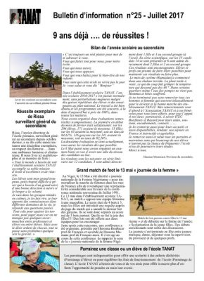 thumbnail of Bulletin n°25