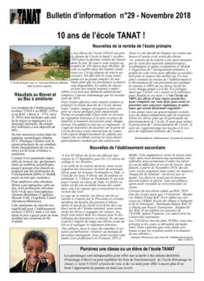 thumbnail of Bulletin n°29