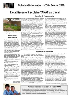 thumbnail of Bulletin n°30