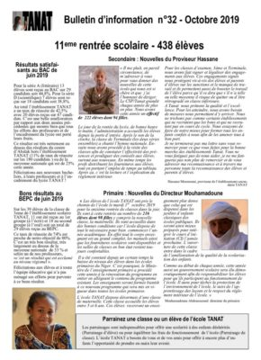 thumbnail of Bulletin n°32