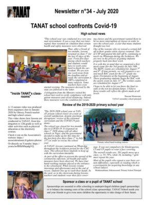 thumbnail of Bulletin n°34 En