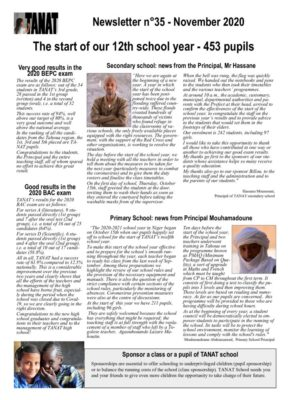 thumbnail of Bulletin n°35 En