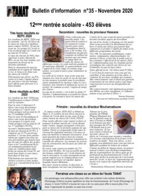 thumbnail of Bulletin n°35