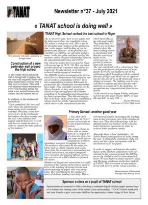 thumbnail of Bulletin n°37 En